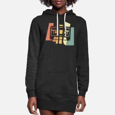 Cassette Cassette - Women's Hoodie Dress