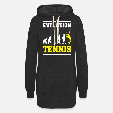 Turn On Tennis - Women's Hoodie Dress