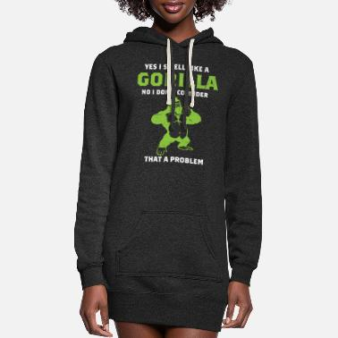 Gorilla Gorilla - Women's Hoodie Dress