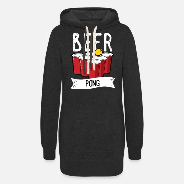 Drinking Game Beer Pong Team Drinking Game Alcohol - Women's Hoodie Dress