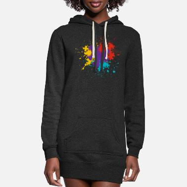 Puzzle Puzzle - Women's Hoodie Dress