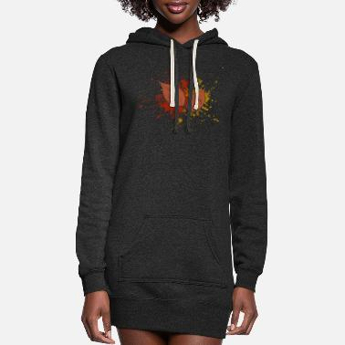 Fall Fall - Women's Hoodie Dress