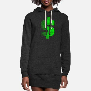 Dollar Dollar - Women's Hoodie Dress