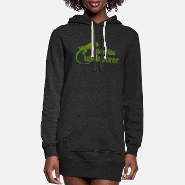 Reptile Reptiles - Women's Hoodie Dress