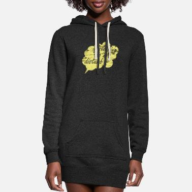 Sleeping Sleep - Women's Hoodie Dress