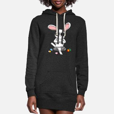 Easter Bunny Easter Bunny Easter Bunny Cool Easter Eggs - Women's Hoodie Dress