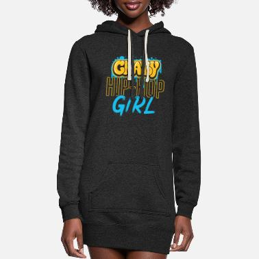 hip hop girls - Women's Hoodie Dress