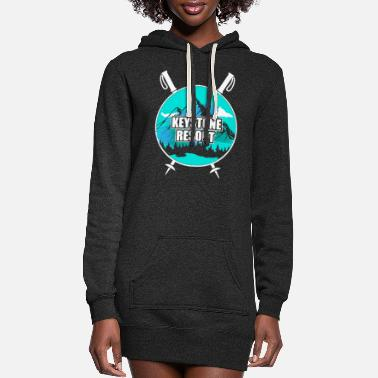 Ski Resort Keystone Resort Ski Resort Snow Wintersport - Women's Hoodie Dress