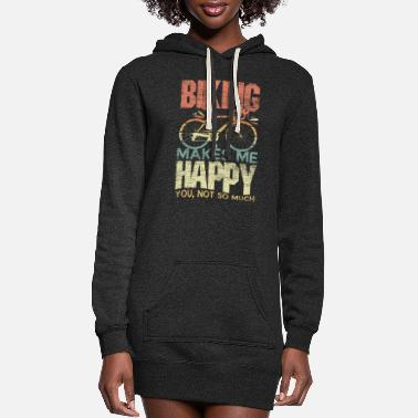 Bike Biking Bike - Women's Hoodie Dress