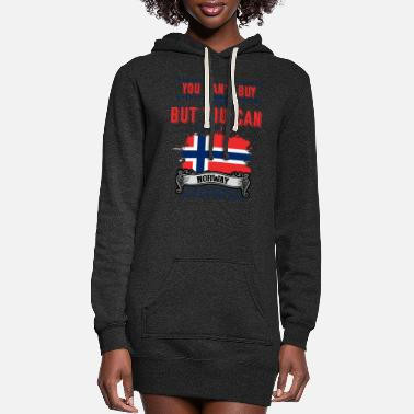 Scandinavia Sailing, Kingdom Of Norway, Trollstigen - Women's Hoodie Dress