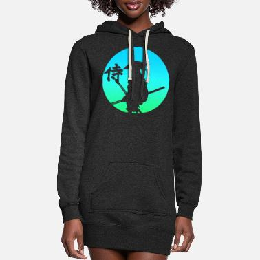 Sword Samurai Japan - Women's Hoodie Dress