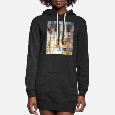 Venice Californa Sunset Cube Vintage - Women's Hoodie Dress