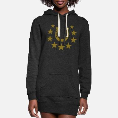 Horseshoe horseshoe - Women's Hoodie Dress