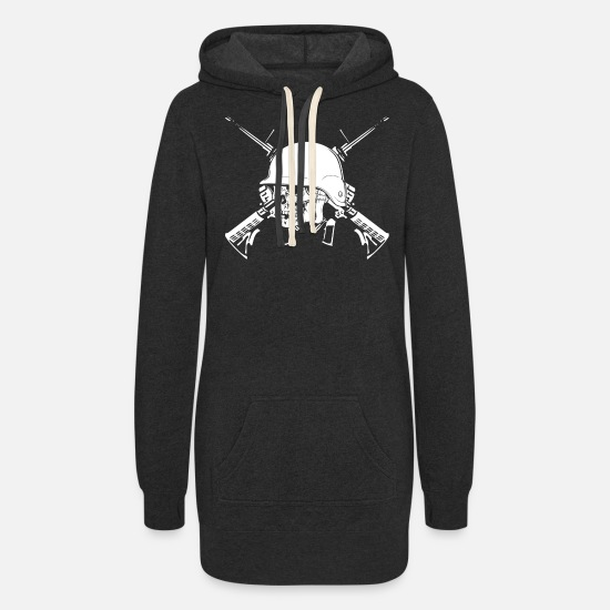 Soldiers Hoodies & Sweatshirts - soldier soldiers winter soldier soldier of fortu - Women's Hoodie Dress heather black