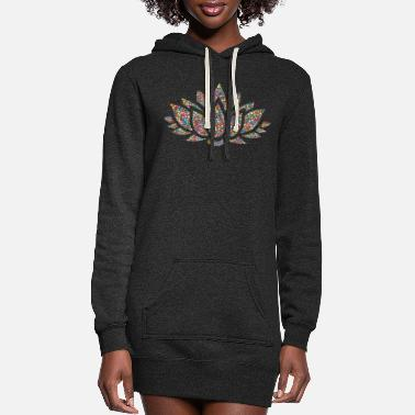 Lotus Lotus - Women's Hoodie Dress