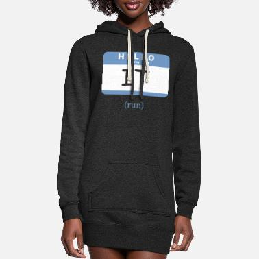 Tag Tag - Women's Hoodie Dress