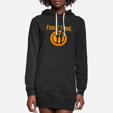 Food Food? Food. - Women's Hoodie Dress