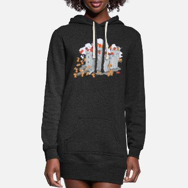 Sieg The Siege - Women's Hoodie Dress