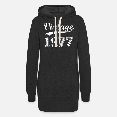 1977 1977 - Women's Hoodie Dress