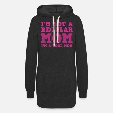 Cool Mom Funny Mothers Gift - Women's Hoodie Dress