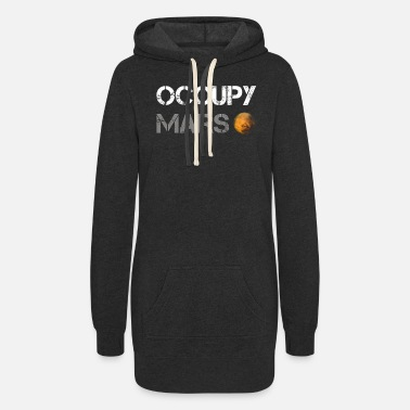 Occupy occupy mars - Women's Hoodie Dress
