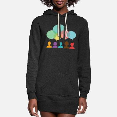 Community community - Women's Hoodie Dress
