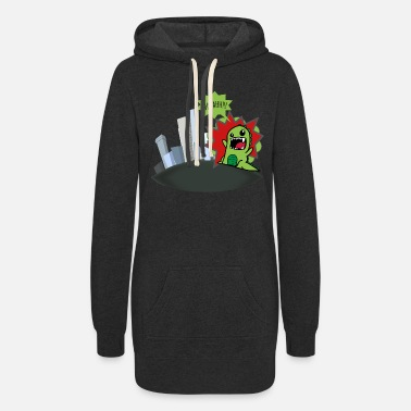 Godzilla - Women's Hoodie Dress