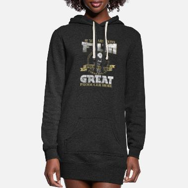 Hollywood Film producer funny - Women's Hoodie Dress