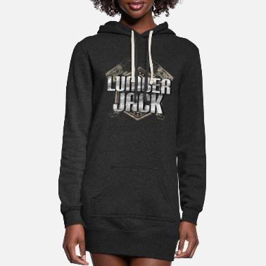 Axe Lumberjack Loggers Occupation gift idea - Women's Hoodie Dress