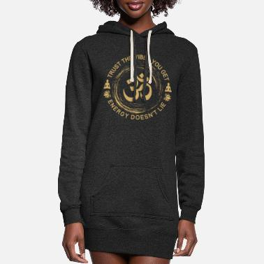 Hinduism Hinduism Meditation Vibes Cool Gift - Women's Hoodie Dress