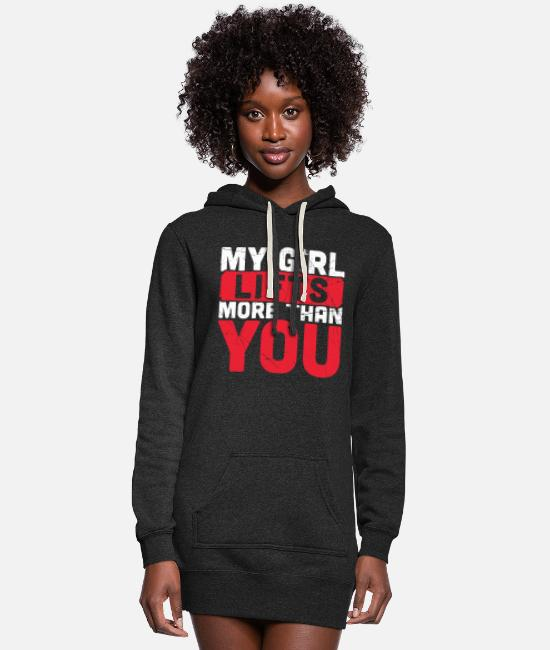 Couples Gym Fitness Funny Quotes Vintage Gift Women S Hoodie Dress Spreadshirt
