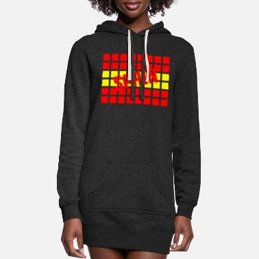 Bandera Spain - Women's Hoodie Dress