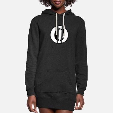 Alphabet C Letter alphabet - Women's Hoodie Dress