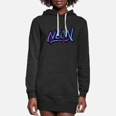 Neon neon - Women's Hoodie Dress