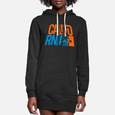 California CALIFORNIA california, girls, californie,summer - Women's Hoodie Dress