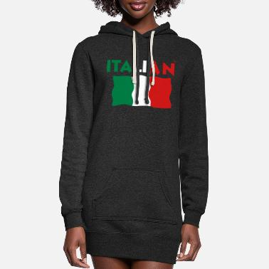 Italian ITALIAN - Women's Hoodie Dress