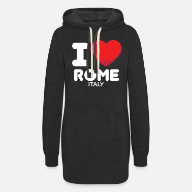 i love rome italy - Women's Hoodie Dress