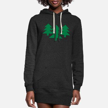 Tree Wood - Tree - Trees - Women's Hoodie Dress