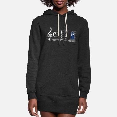 Funny doctor who - Women's Hoodie Dress