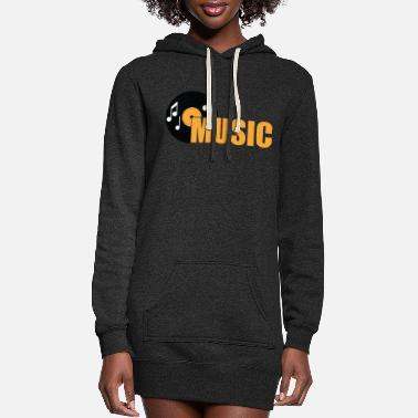 Music Club MUSIC - Women's Hoodie Dress
