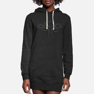 Cloud Clouds - Women's Hoodie Dress