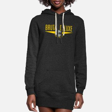 Brutal Brutal Deluxe - Women's Hoodie Dress