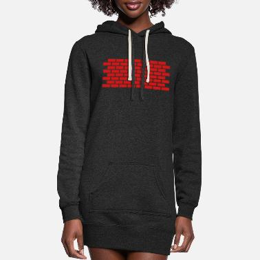 Wall Wall - Women's Hoodie Dress