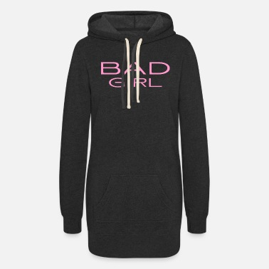 Witty Bad Girl - naughty - witty - mean - Women's Hoodie Dress
