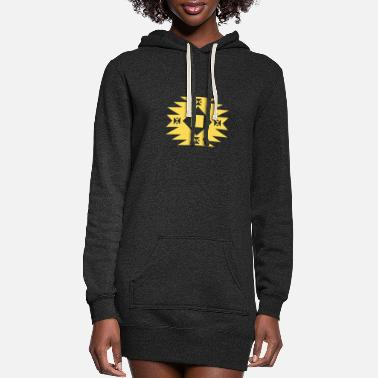 Symbol Symbol - Women's Hoodie Dress