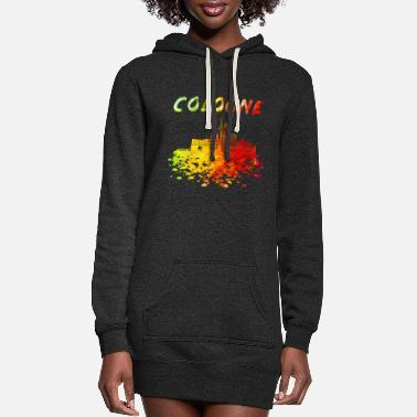 Rheinland Cologne Skyline / Cathedral City Kölsch Helau - Women's Hoodie Dress