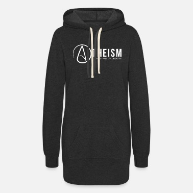 Atheism Theism - theism a non-prophet organization - Women's Hoodie Dress