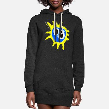 Primal PRIMAL SCREAM - Women's Hoodie Dress