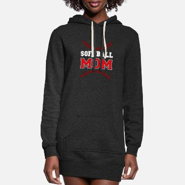 Softball Softball - Softball Mom - Women's Hoodie Dress