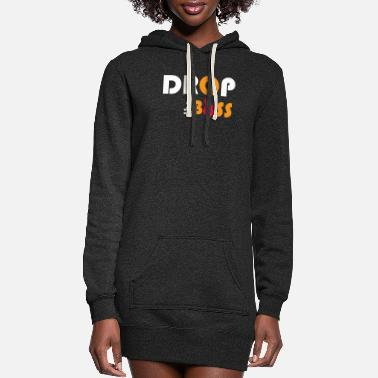 Bass Bass - Drop the bass - Women's Hoodie Dress